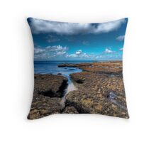 Rockpools, Pt. Lonsdale Throw Pillow