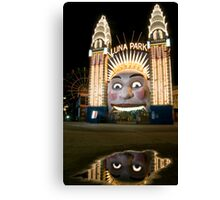 Luna Park Reflection, Sydney Canvas Print