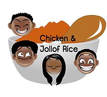 Chicken & Jollof Rice show logo by cspn
