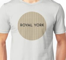 ROYAL YORK Subway Station Unisex T-Shirt