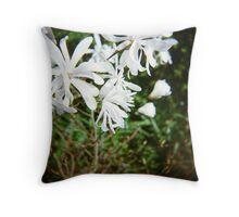 magnolia stellata in bloom Throw Pillow