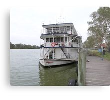 'Proud Mary' River Boat, Murray River, 'Mannum! Sth. Aust. Metal Print