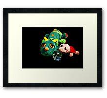 Best Friends Teddy Framed Print