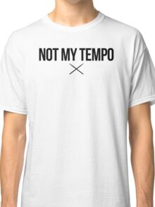 Whiplash - Not My Tempo - Black Clean Classic T-Shirt