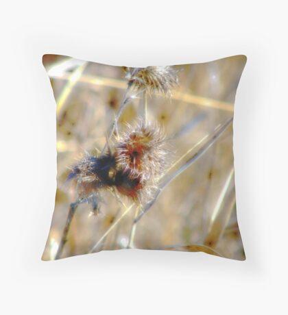 A Prickly Matter Throw Pillow