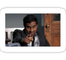 What Would Tom Haverford Do? #WWTHD Sticker