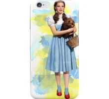 Dorothy Gale watercolors iPhone Case/Skin