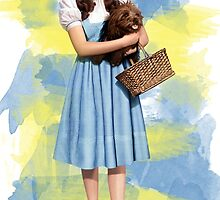 Dorothy Gale watercolors by MissClaraBow