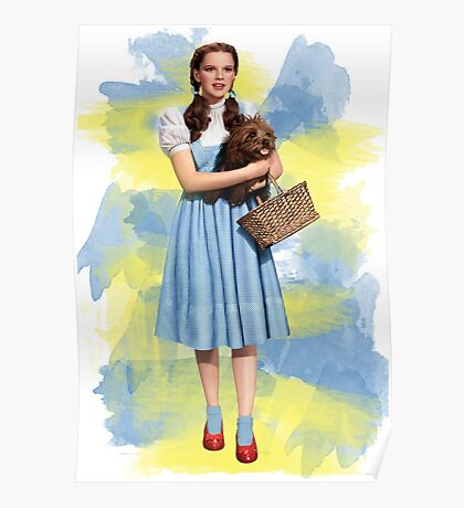 Dorothy Gale watercolors Poster