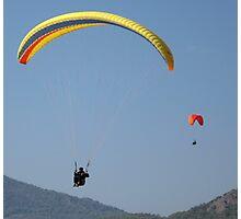 Turkish Paragliders Photographic Print