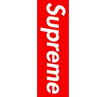 Red Supreme Media Cases, Pillows, and More. Photographic Print