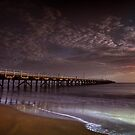 Hervey Bay Pier by Tim  Geraghty-Groves