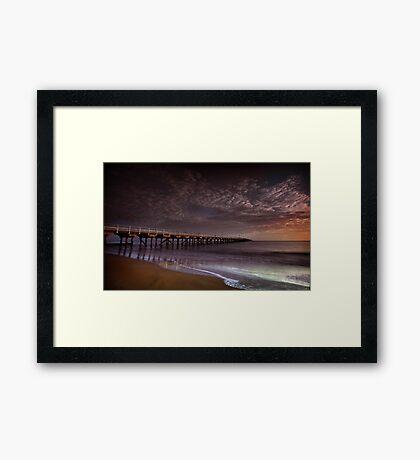 Hervey Bay Pier Framed Print