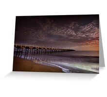 Hervey Bay Pier Greeting Card