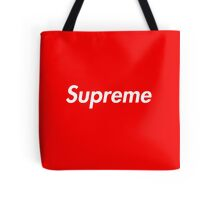 Red Supreme Media Cases, Pillows, and More. Tote Bag