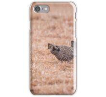 Prairie Chicken 3-2015 iPhone Case/Skin