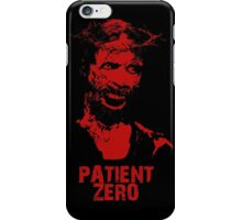 Patient Zero - Zombie Jesus - Red iPhone Case/Skin