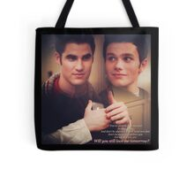 Glee: Will You Still Love Me Tomorrow?  Tote Bag