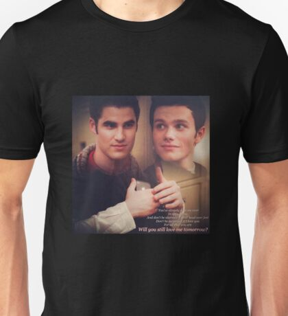 Glee: Will You Still Love Me Tomorrow?  Unisex T-Shirt