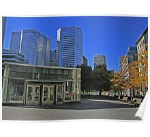 My City Montreal Quebec Canada (Place Victoria) Poster
