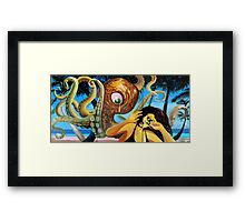 AMERICAN COUPLE #4 - SOLD Framed Print