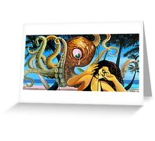 AMERICAN COUPLE #4 - SOLD Greeting Card