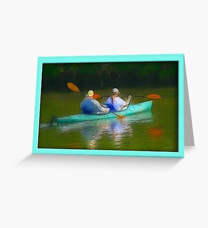 Tranquil  Experience Greeting Card