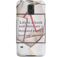 Clockwork Angel/Books Samsung Galaxy Case/Skin