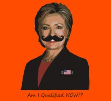 HILLARY for PRESIDENT: Am I qualified NOW? by Kricket-Kountry