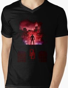 The Man Without Fear Mens V-Neck T-Shirt