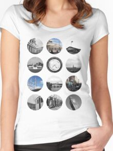London Snapshots Women's Fitted Scoop T-Shirt