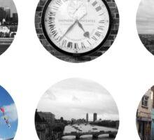 London Snapshots Sticker