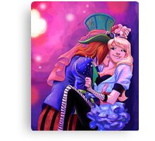 You Drive Me Mad Canvas Print