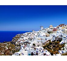 Oia Town Photographic Print