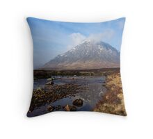 Buachaille Etive Mòr. Throw Pillow