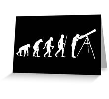 Astronomy Evolution T Shirt Greeting Card