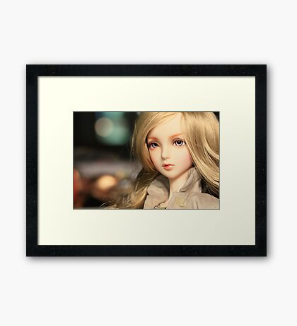 make my bokeh day Framed Print