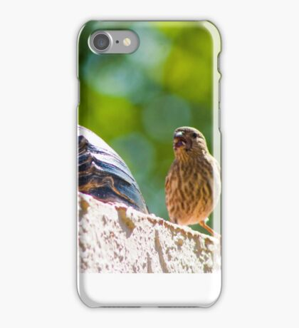 Angry Yelling Bird iPhone Case/Skin
