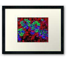 Martian Shamrocks Framed Print
