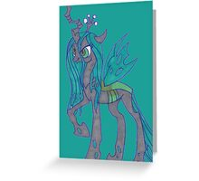Notecard Ponies: #10 Queen Chrysalis Greeting Card