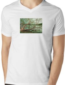 Wandering Branches Mens V-Neck T-Shirt