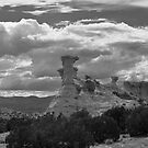 Hoodoo Island, near Chimayo, New Mexico by TheBlindHog