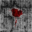 Blood Rose by Khrome Photography