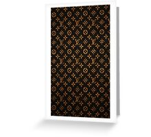 Louis Vuitton the case Greeting Card
