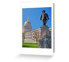 Spring at the Capital Greeting Card