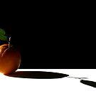 Orange and shadow by Barbara  Corvino