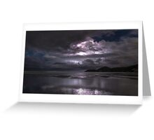 Storms approach Greeting Card