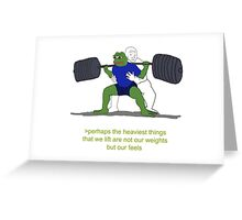 Feels Greeting Card