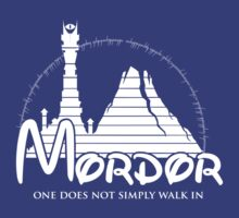 Disney Mordor by whitegatedesign