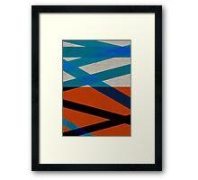 Cross Rays Framed Print